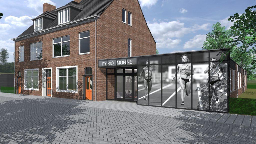 Vernieuwbouw Fysiopraktijk Monné Breda