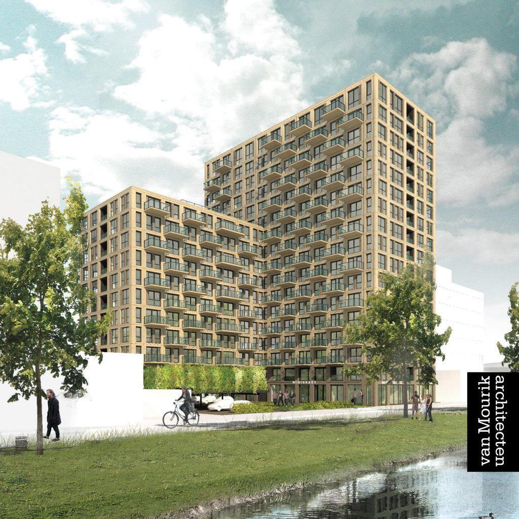 Nieuwbouw Neherkade 1k Den Haag