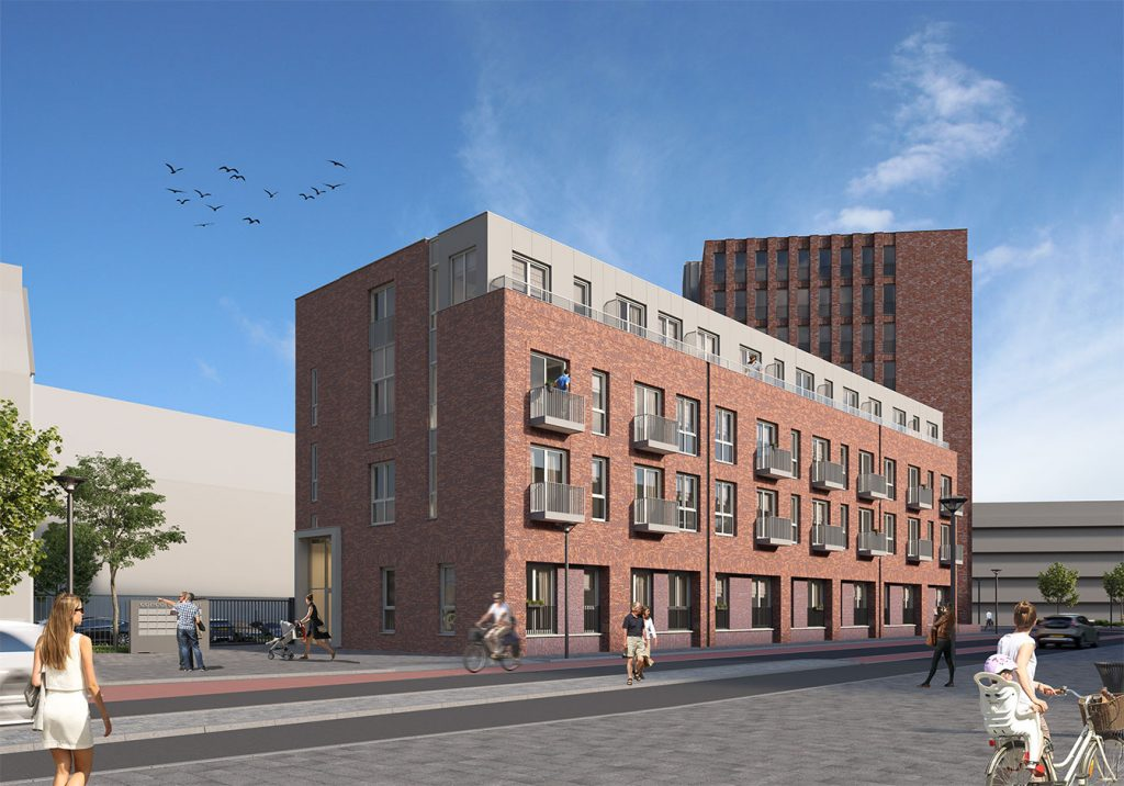 Transformatie Jongerenhuisvesting Markendaalseweg Breda