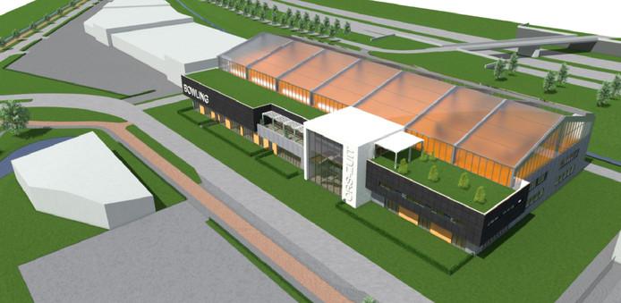 Nieuw tenniscomplex in Etten-Leur: ORS-ZUIT
